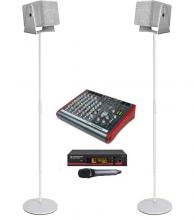 Аренда ультракомпактного белого комплекта звука для показов