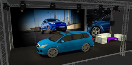 Визуализация стенда для Toyota